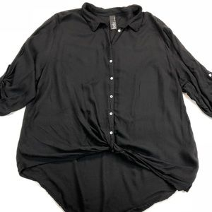 Bobi Los Angeles Black Blouse SZ M